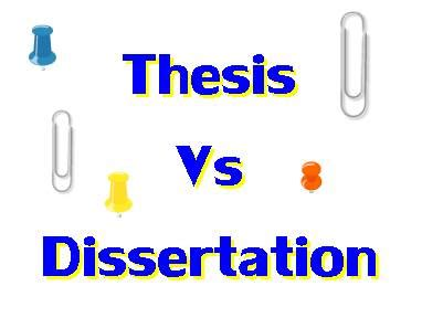 Table of contents format in thesis
